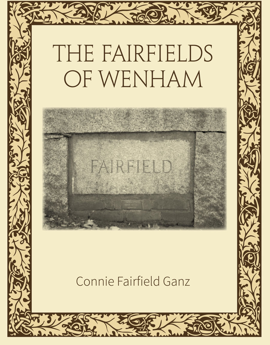 fairfield of wenham book